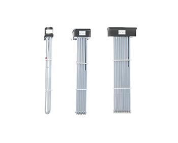 3, 6, 9 Element Tubular PTFE Immersion Heater