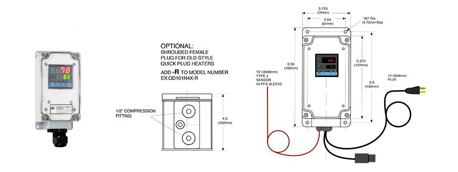 Digital Combination Temperature Control QD 101