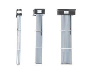3, 6, 9 Element Tubular PTFE Immersion Heater