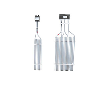 Single Three Tube Fluoropolymer Immersion Heater