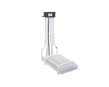 3 Element L-Shaped PTFE Heater with Corrosion Resistant Enclosure