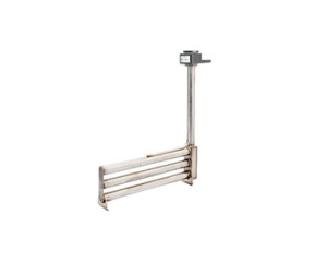 Vertical Stacked L-Shaped Metal Single Tube Immersion Heater